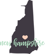 New Hampshire State SVG Cut File
