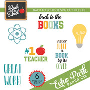 Back To School SVG Cut Files #3