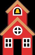 School House #2 SVG Cut File