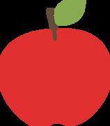 Red Apple SVG Cut File