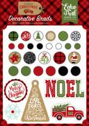 Celebrate Christmas Decorative Brads