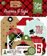 Celebrate Christmas Frames & Tags Ephemera