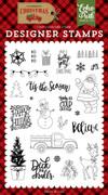 Deliver Christmas Stamp