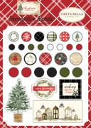 Christmas Decorative Brads
