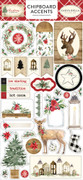 Christmas Chipboard Accents