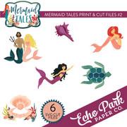 Mermaid Tales Print & Cut Files #2