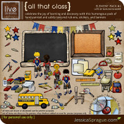 All That Class (School-Themed) Elements Vol. 1