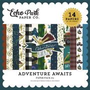 Adventure Awaits Paper Pack #2