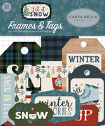 Let It Snow Frames & Tags Ephemera