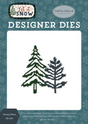Snowy Pines Die Set