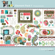 Out of Print Element Pack 1