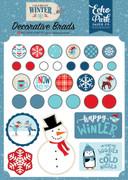 Celebrate Winter Decorative Brads