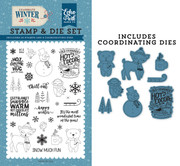 Happy Winter Die/Stamp Set