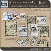 Booklovers Delight - Bookplate Collection