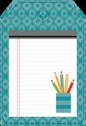 School Tag #4 Print & Cut File