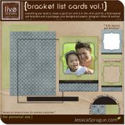 Bracket List Cards Vol.1