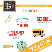 Back To School SVG Cut Files #4