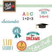 Back To School SVG Cut Files #5