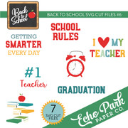 Back To School SVG Cut Files #6
