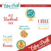EP School SVG Cut Files #1