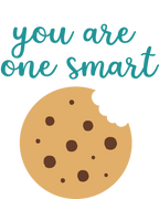 You Are One Smart Cookie SVG Cut File