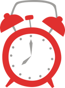 Alarm Clock #2 SVG Cut File