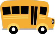 School Bus #2 SVG Cut File