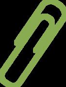 Paper Clip SVG Cut File