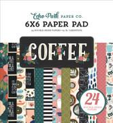 Coffee 6x6 Paper Pad