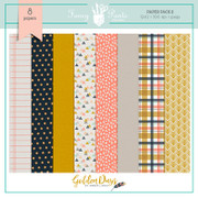 Golden Days Paper Pack 2