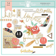 Golden Days Elements Pack 2