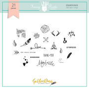 Golden Days Stamp Set