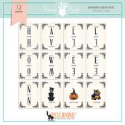 Spellbound Halloween Banner/Trading Cards Set