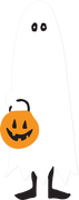 Ghost Costume SVG Cut File