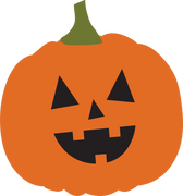 Halloween Pumpkin #2 SVG Cut File