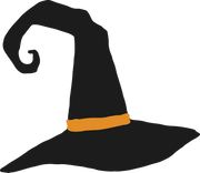 Witch's Hat SVG Cut File