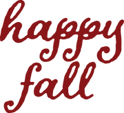 Happy Fall SVG Cut File