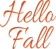 Hello Fall #4 SVG Cut File
