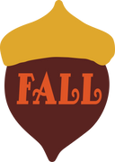 Fall Acorn SVG Cut File