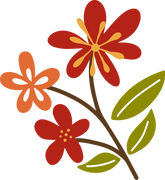 Autumn Flower #4 SVG Cut File