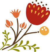 Autumn Flower #5 SVG Cut File