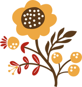 Autumn Flower #7 SVG Cut File