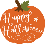 Happy Halloween Pumpkin SVG Cut File