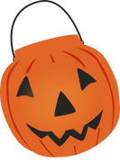 Pumpkin Bucket SVG Cut File