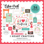 I Heart Crafting Element Pack #3