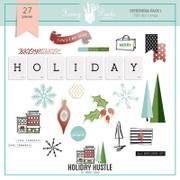 Holiday Hustle Ephmera Pack 1