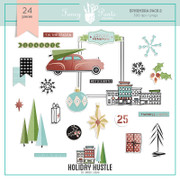Holiday Hustle Ephemera Pack 2