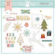 FPD Merry and Bright Ephemera Pack 1