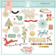 FPD Merry and Bright Ephemera Pack 3