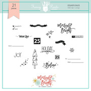 FPD Merry and Bright Stamps